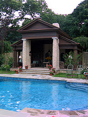 Sickman Mill Pool House